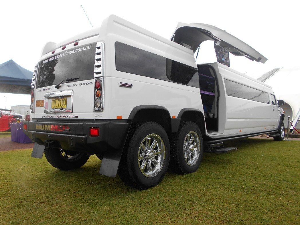Stretched Hummer Limousine Sydney
