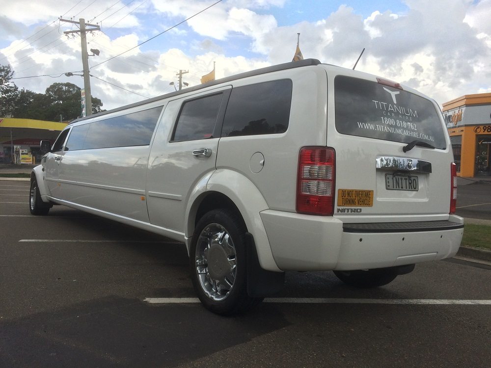 Dodge Nitro Is Sworn In Impressive Limousines
